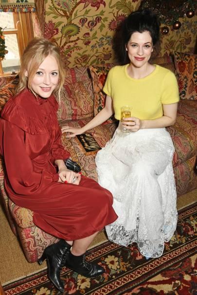 Elen Rhys and Jessica De Gouw