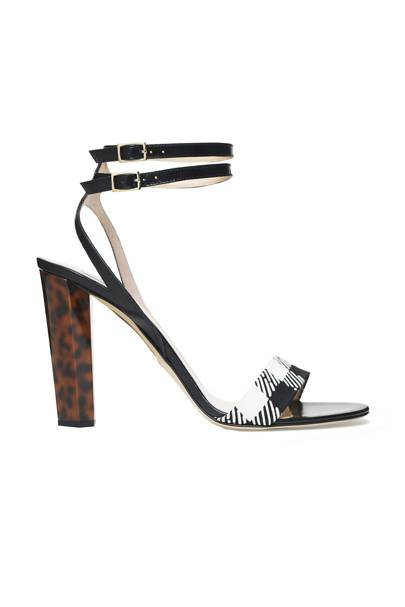 Calfskin shoes, £269, by Diane von Furstenberg