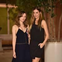 Amber Le Bon and Valentine Fillol Cordier