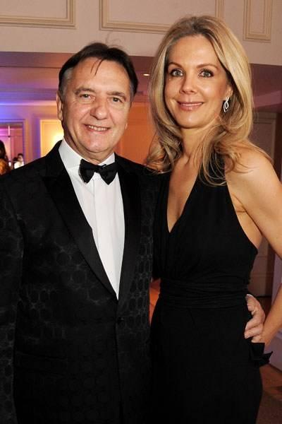 Raymond Blanc and Natalia Traxel