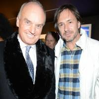 Nicholas Coleridge and Marc Newson