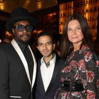 Will.i.am, Imran Amed and Dame Natalie Massenet