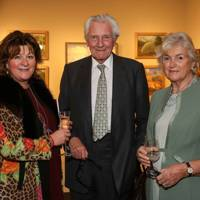Lara Grylls, Lord Heseltine and Lady Heseltine