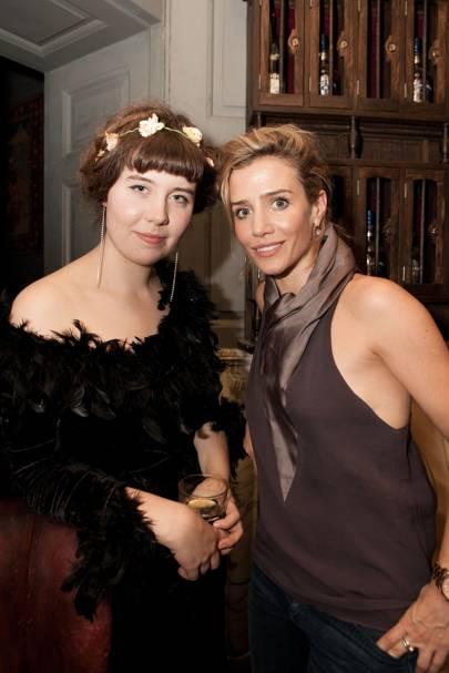 Rose Betts and Lisa Dwan