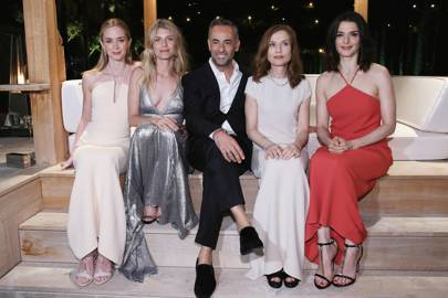 Emily Blunt, Melanie Laurent, Francisco Costa, Isabelle Huppert and Rachel Weisz