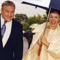 Conrad Black and Mrs Conrad Black
