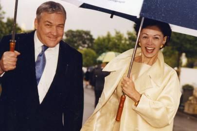 Conrad Black and Mrs Conrad Black