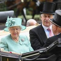 The Queen, Captain David Bowes-Lyon and Erik Penser