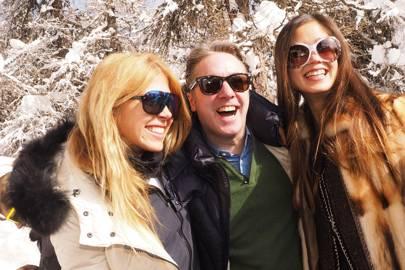 Louise Tabbiner, Andi Roder and Isabella Lennhag