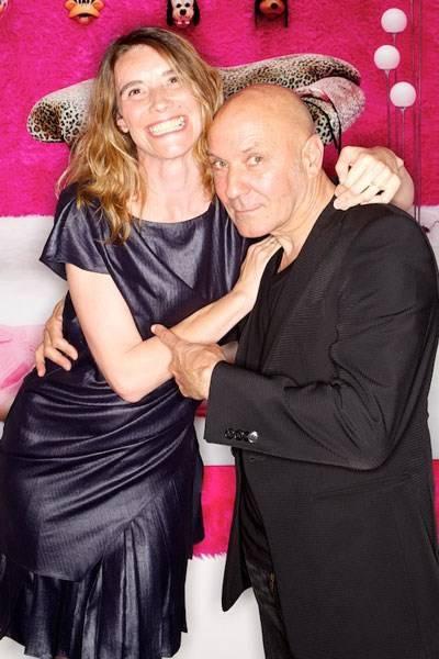 Caroline Gaudriault and Gérard Rancinan