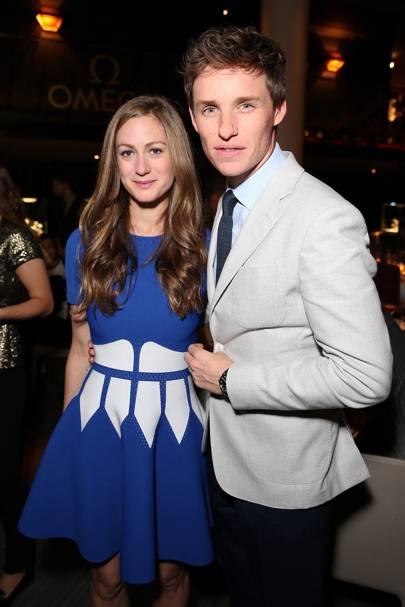 Hannah Redmayne and Eddie Redmayne