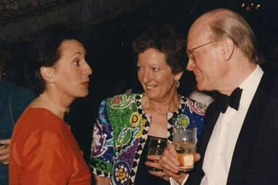 Fiona Sample, Lady Kelly and Sir David Kelly
