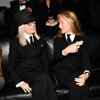 Diane Keaton and Ricky Lauren