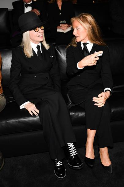 Diane Keaton and Ricky Lauren