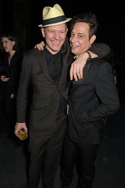 Paul Simonon and Jamie Hince