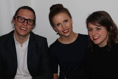 Jonas Ernevi, Anne Kuittinen and Chloe Marienbach