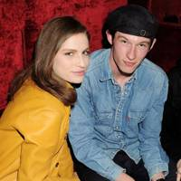 Tali Lennox and Callum Turner