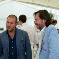 Jonathan Ive and Marc Newson