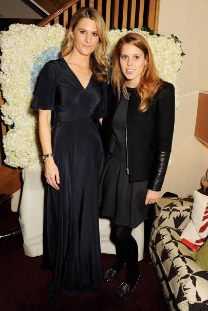 Princess Beatrice and Lady Kinvara Balfour