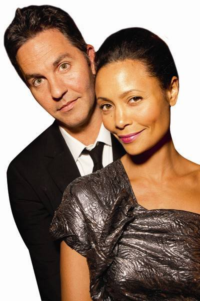 Ol Parker and Thandie Newton
