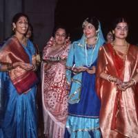 Mrs Nandini Shankar, Mrs Remu Verma, Mrs Anu Roy, Mrs Shalini Shankar, Mrs Swabna Banerji and Mrs Mukul Ahmad