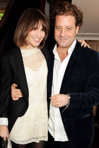 Sheherazade Goldsmith and Lars von Bennigsen