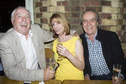 Nicholas Day, Jane Asher and Gerald Scarfe