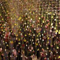 Rebecca Louise Law's installation