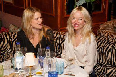 Gavanndra Hodge and Clare Bennett