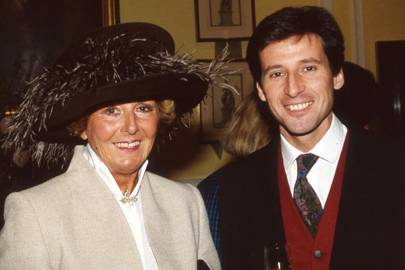 Heather Holgate and Sebastian Coe