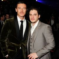 Luke Evans and Kit Harington