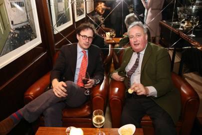 John Gibson and the Duke of Rutland