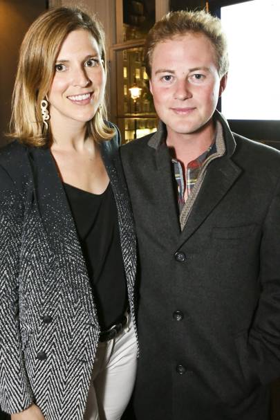 Elizabeth Wilson and Guy Pelly