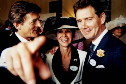 Nigel Havers, Mrs Anthony Andrews and Anthony Andrews
