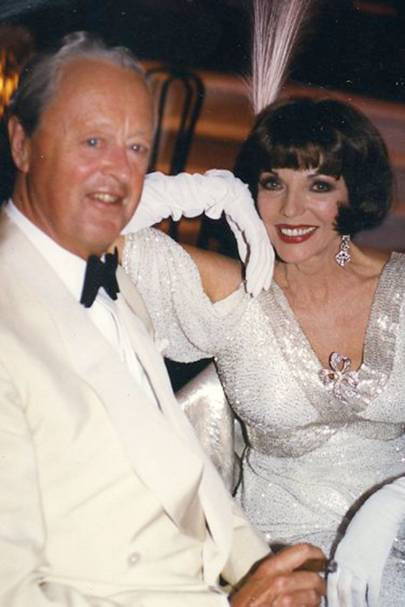 The Duke of Marlborough and Joan Collins