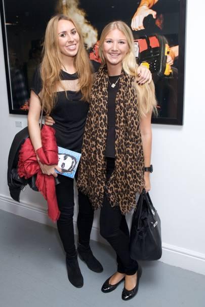 Charlotte-Elizabeth Evans and Olivia Walton