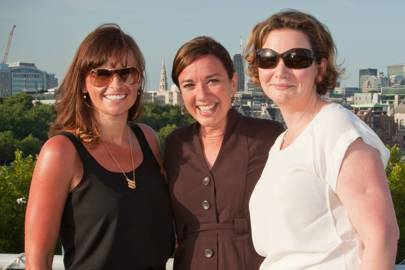 Kate Carmichael, Stephanie Hare and Sinead Ni Mhuircheartaigh