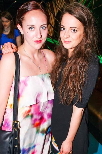 Felicity Hall and Alexandra de la Force