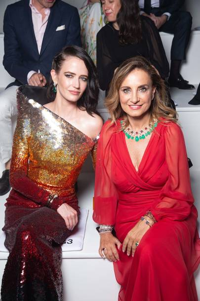 Eva Green and Lucia Silvestri