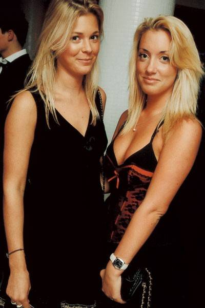 Henny Hardy and Polly Turford