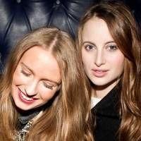 Florinda Carey and Rosie Fortescue