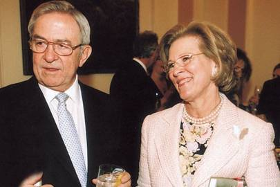 King Constantine of The Hellenes and Queen Constatine of The Hellenes