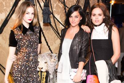 Laura Love, Leigh Lezark and Atlanta de Cadenet Taylor