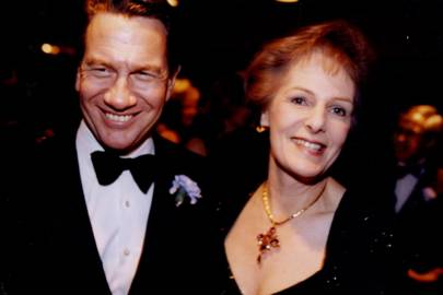 Michael Portillo and Lady Wakeham