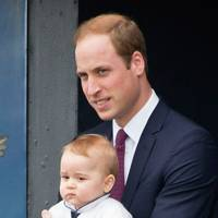 The Duke of Cambridge and Prince George of Cambridge
