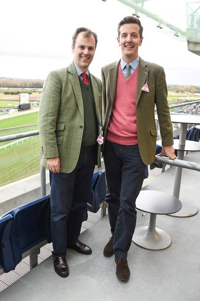 Will Fraser and Oliver Chadwyck-Healey
