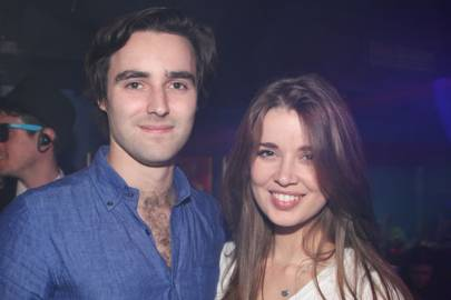 Oliver Beros and Hannah Sheridon