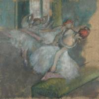 Drawn in Colour: Degas from the Burrell at the National Gallery