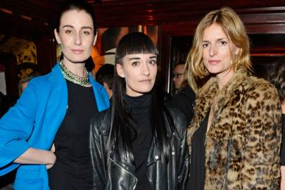Erin O'Connor, Hannah Marshall and Jacquetta Wheeler