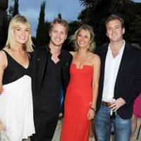 Isabella Calthorpe, Sam Branson, Holly Branson and Fred Andrewes